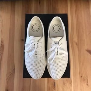 MBMJ Lace Up Leather Sneakers NWB